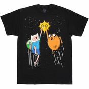 Adventure Time Space Fist Bump T Shirt