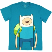 Adventure Time Large Finn T Shirt