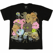 Adventure Time Candy Zombies T Shirt