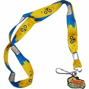 Adventure Time Faces Charm Lanyard