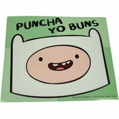 Adventure Time Puncha Yo Buns Sticker