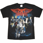Aerosmith Bike T Shirt