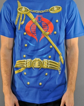 GI Joe Cobra Commander T Shirt
