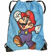 Mario Jump Drawstring Backpack