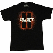 Call of Duty Black Ops 2 Spray T Shirt Sheer