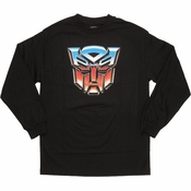 Transformers Autobot Long Sleeve T Shirt
