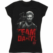 Walking Dead Team Daryl Baby Tee