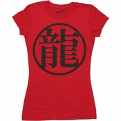 Dragon Ball Z Dragon Kanji Baby Tee