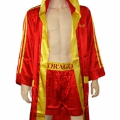 Rocky Ivan Drago Robe and Boxers Set