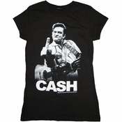 Johnny Cash Bird Baby Tee