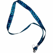 Sesame Street Cookie Monster Full Faces Lanyard