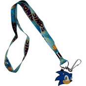 Sonic the Hedgehog Charm Lanyard