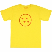 Dragon Ball Z Four Star T Shirt