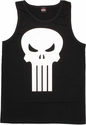 Punisher Long Skull Tank Top