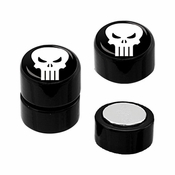 Punisher Faux Plug Magnetic Earrings