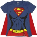 Supergirl Cape Baby Tee