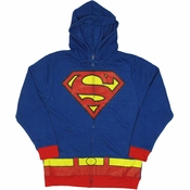 Superman Costume Suit Hoodie
