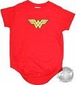 Wonder Woman Symbol Snap Suit