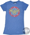 Wonder Woman WW Circle Baby Tee