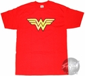 Wonder Woman Symbol Distressed T-Shirt