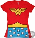 Wonder Woman Costume Baby Tee