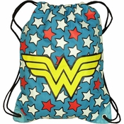Wonder Woman Stars Drawstring Backpack