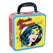 Wonder Woman Lovely Wise Tin Lunch Box