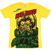 Mars Attacks Big Martian T Shirt Sheer