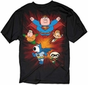 Family Guy Superheroes T Shirt