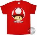 Nintendo Grow Up T-Shirt