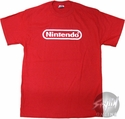 Nintendo Logo Red T-Shirt