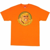 Aquaman Outrageous T Shirt