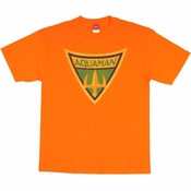 Aquaman Shield T Shirt
