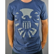 Marvel SHIELD Symbol T Shirt Sheer