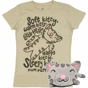 Big Bang Theory Soft Kitty Junior Combo