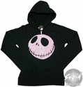 Nightmare Before Christmas Pink Jack Junior Hoodie