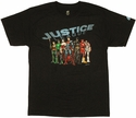 Justice League New 52 T Shirt