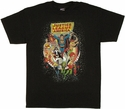 Justice League Space T Shirt