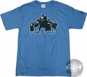 Justice League Silhouettes T-Shirt