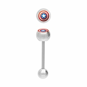 Captain America Barbell