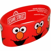 Sesame Street Elmo Faces Rubber Wristband