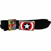 Captain America Big Shield Mesh Belt