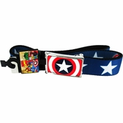 Captain America Stars Mesh Belt