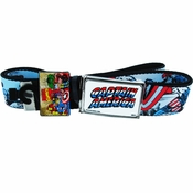 Captain America Name Comic Mesh Belt