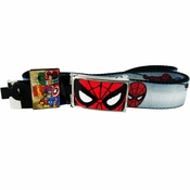 Spiderman Face Comic Mesh Belt