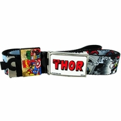 Thor Red Name Comic Mesh Belt