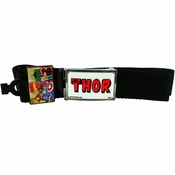 Thor Red Name Mesh Belt
