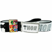 Thor Gray Name Mesh Belt