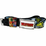 X Men Wolverine Name Comic Mesh Belt
