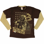 Star Wars Lego Vader 77 Long Sleeve Youth T Shirt